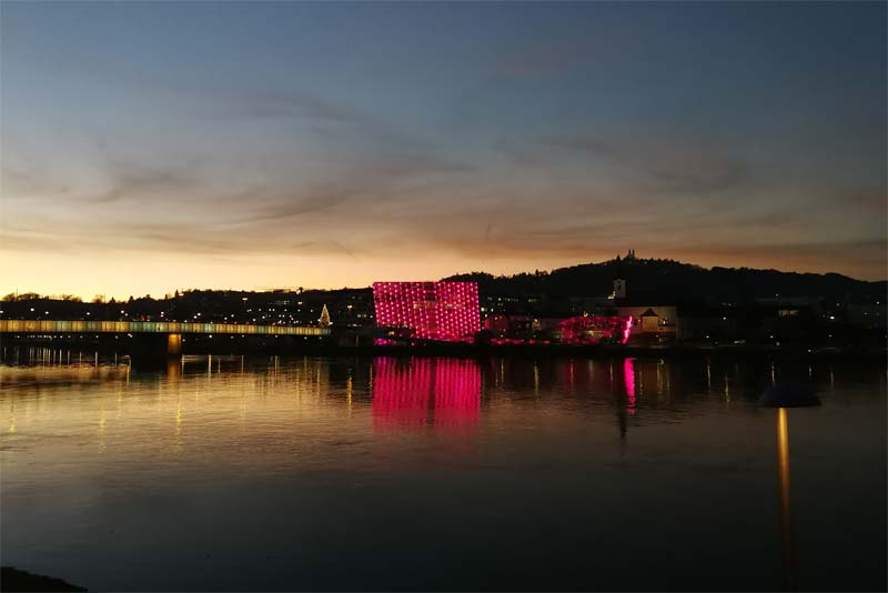Ars Electronica Center Linz Advent EM