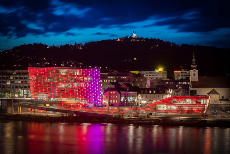 Ars Electronica Center Linz c Robert Bauernhansl