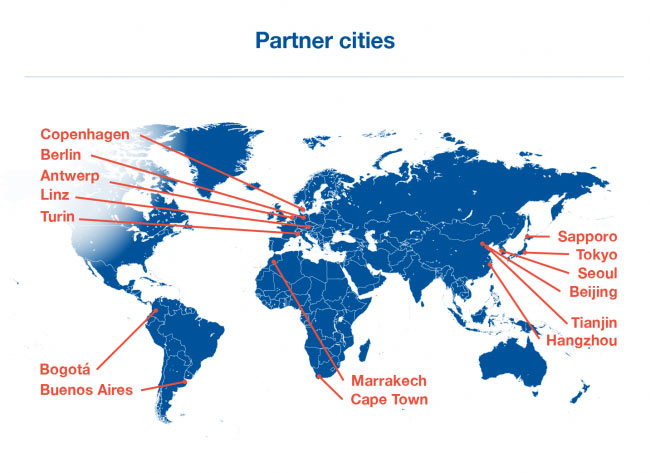 Partner cities UNWTO City Tourism Performance Research