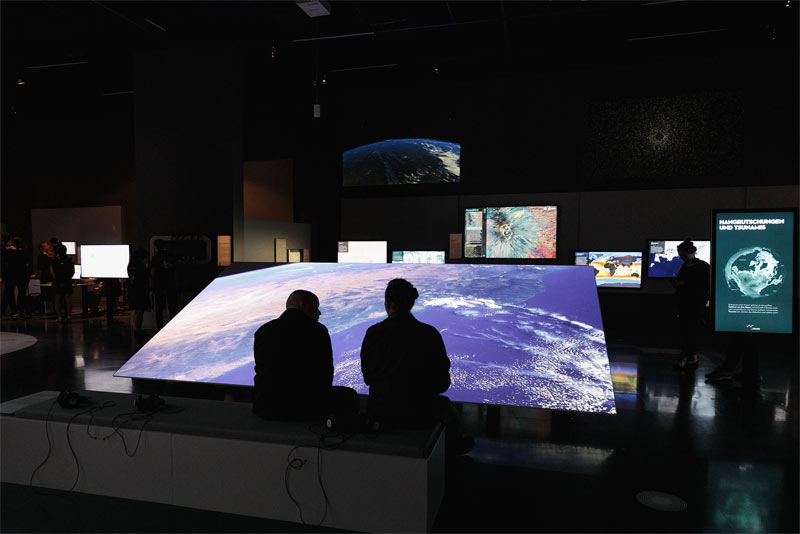 Ars Electronica Center Global Shift c vog photo